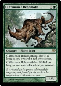 Cliffrunner Behemoth (Foil)
