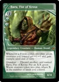 Baru, Fist of Krosa