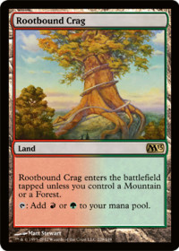 Rootbound Crag (Foil)