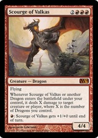 Scourge of Valkas (Foil)