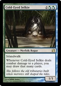 Cold-Eyed Selkie (Foil)