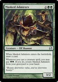 Masked Admirers (Foil)
