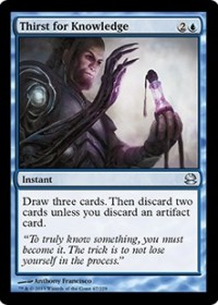 Thirst for Knowledge (Foil)
