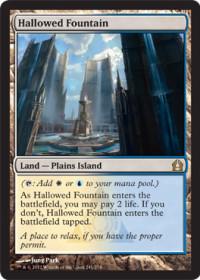 Hallowed Fountain (Foil)