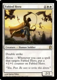 Fabled Hero (Foil)