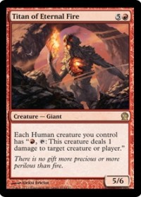 Titan of Eternal Fire (Foil)