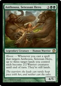 Anthousa, Setessan Hero (Foil)