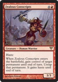 Zealous Conscripts (Foil)