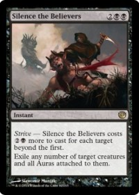 Silence the Believers (Foil)