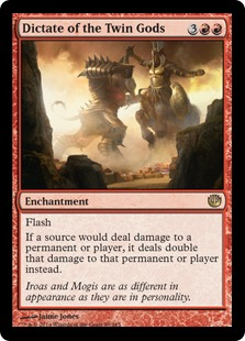 Dictate of the Twin Gods (Foil)