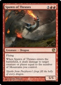Spawn of Thraxes (Foil)