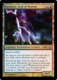 Keranos, God of Storms (Foil)