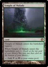 Temple of Malady (Foil)