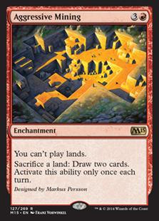 Aggressive Mining (Foil)