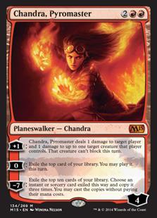 Chandra, Pyromaster (Foil)