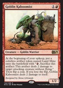 Goblin Kaboomist (Foil)