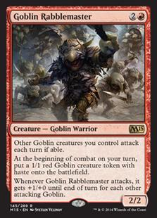 Goblin Rabblemaster (Foil)