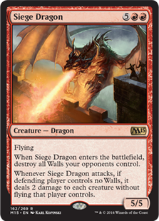 Siege Dragon (Foil)