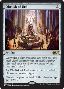 Obelisk of Urd (Foil)