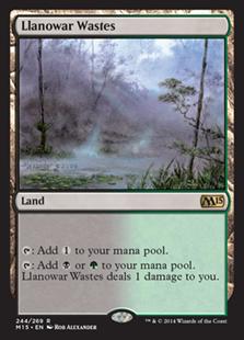 Llanowar Wastes (Foil)