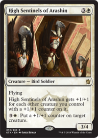 High Sentinels of Arashin (Foil)