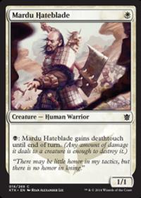 Mardu Hateblade (Foil)