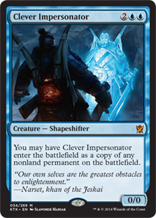 Clever Impersonator (Foil)