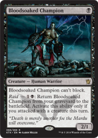 Bloodsoaked Champion (Foil)