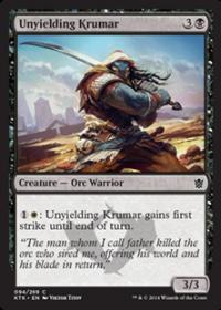 Unyielding Krumar