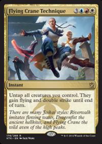 Flying Crane Technique (Foil)