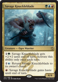 Savage Knuckleblade (Foil)