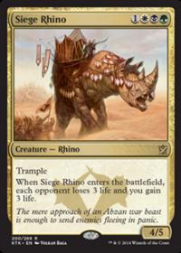 Siege Rhino (Foil)