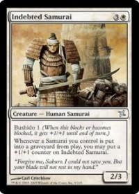 Indebted Samurai