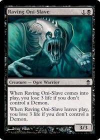 Raving Oni-Slave
