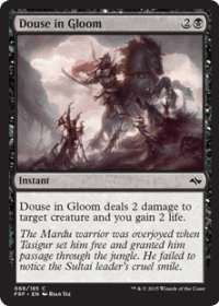 Douse in Gloom (Foil)