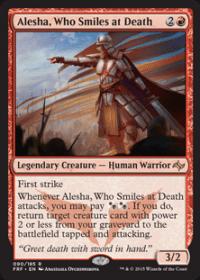 Alesha, Who Smiles at Death (Foil)