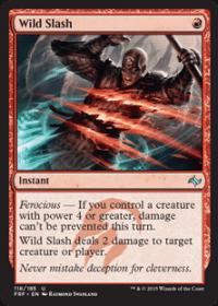 Wild Slash (Foil)