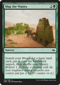 Map the Wastes (Foil)