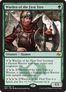 Warden of the First Tree (Foil)