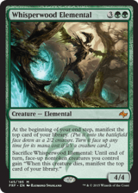 Whisperwood Elemental (Foil)