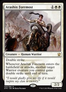 Arashin Foremost (Foil)
