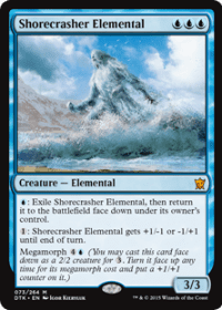 Shorecrasher Elemental (Foil)