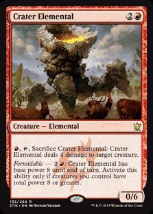 Crater Elemental (Foil)