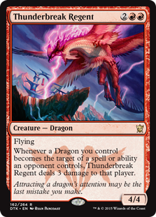 Thunderbreak Regent (Foil)