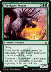 Foe-Razer Regent (Foil)