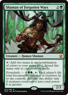 Shaman of Forgotten Ways (Foil)