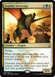Arashin Sovereign (Foil)