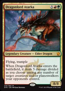 Dragonlord Atarka (Foil)