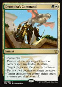 Dromoka's Command (Foil)