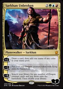 Sarkhan Unbroken (Foil)